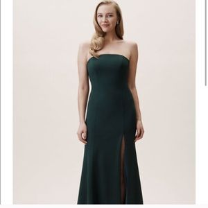 BHLDN Emerald Green Circe Dress